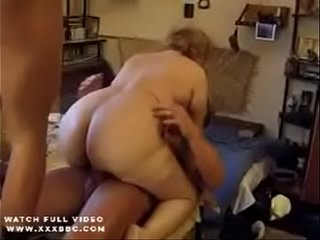Granny in hot dp anal invasion act