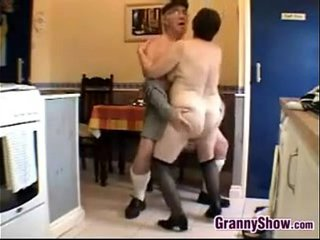 Wild Grandma And Grandpa Having Hook-up