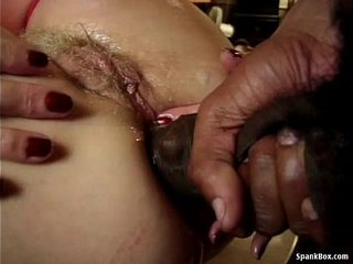 Granny Loves Assfuck And Big black cock