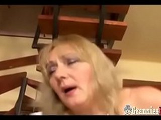 Scorching Plumper Granny With Big Boobs Ass fucking Tart's