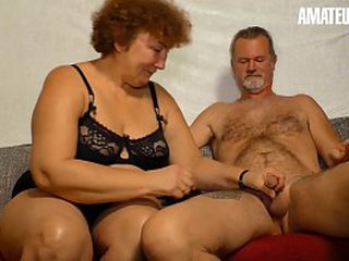 Inexperienced EURO - Deutsche Granny Heike R. Sucks And Fucks Like A Pornstar