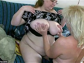 OldNanny Fabulous chubby mature and plumper granny