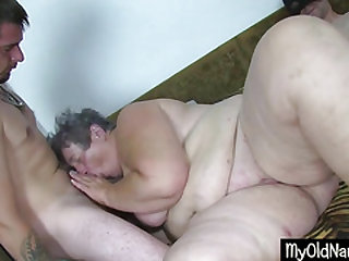 Big Dirty Granny Dildo Smallish Herself