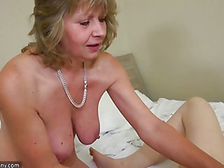 Teenager masturbating when mature joining the soiree