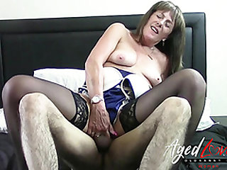 AgedLovE British Mature Screwed Really Hardcore