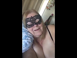 Breasty granny acquires buttfucked by a juvenile well hung neighbour