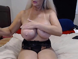 Fantastic granny tammy with juggling marangos and superlatively good butt