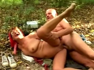 granny pounded by her beau
