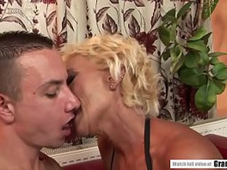 Old Mommy Boned by Youthfull Spirited Dick